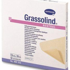 Grassolind® Boş dokulu gazlı bezden yapılmış merhemli yara örtüsü